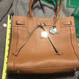 Excellent condition Dooney & Bourke tan satchel